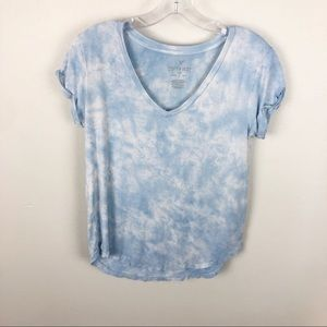 American Eagle Soft And Sexy Tee Tie Dye Size XS